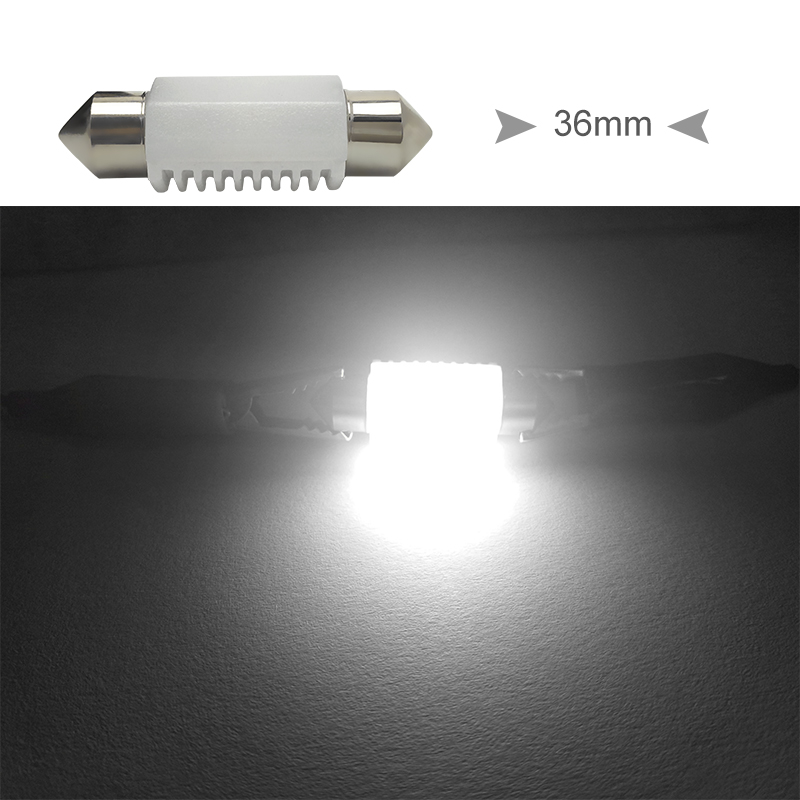 CNSUNNYLIGHT High Quality C5W C10W LED 31mm 36mm 39mm 41mm CANBUS Car Festoon Light Auto Interior Dome Lamp Reading Bulb White 12V 24V (14)