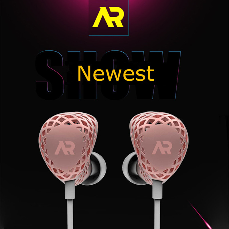 AR 3D Printing Moving Iron Earphone HiFi Stereo Earbuds Anti-noise Headset With Mic For iPhone Airpods IOS Android Mobile Phone noise cancelling earphone stereo earbuds reflective fiber cloth line headset music headphones for iphone mobile phone mp3 mp4 page 6