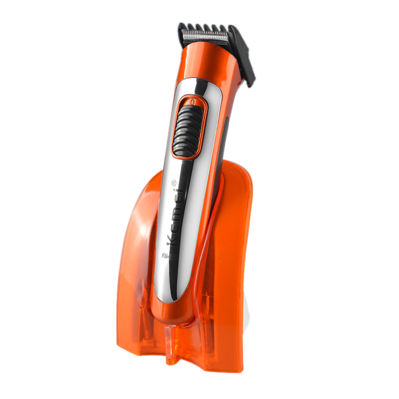 Kemei Haircut Hair Styling Tools Wireless Electric Hair Clipper Rechargeable Hair Trimmer for Men Child KM-607A hair clipper barber scissors carved carving tools rechargeable hair trimmer adult child modeling stencil lettering