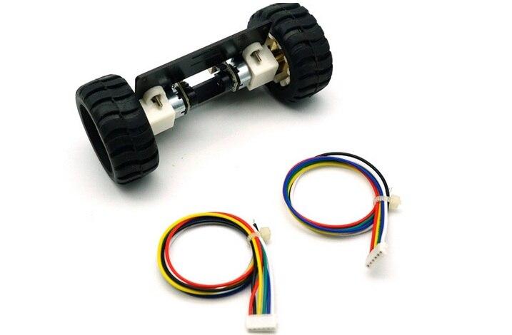 do carro 2wd com encoder motor 02