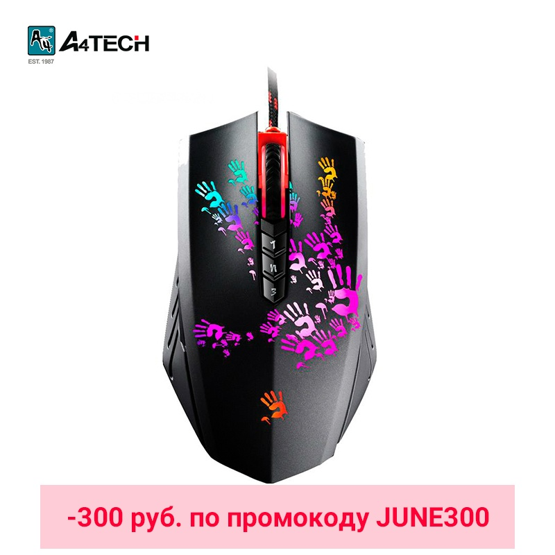 mouse Gaming mouse A4Tech Bloody A6 Officeacc JUNE300 gaming keyboard a4tech bloody b314 officeacc