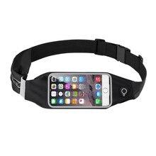 Outdoor Sports Running Belt Phone Waist Bag Case Waterproof