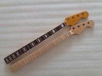 2pcs Maple 21 Fret JAZZ Bass Neck For Electric Bass Guitar Parts Replacment