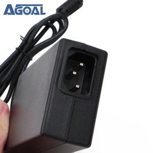 Image 4 - Ac 100 240v dc 12v 4A 48ワット電源アダプタledストリップライトcctvセキュリティカメラモニターV56米国/イギリス/eu/auプラグ標準