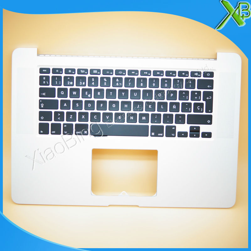 New TopCase with SP Spanish Keyboard for MacBook Pro Retina 15.4 A1398 2013-2014 years цена