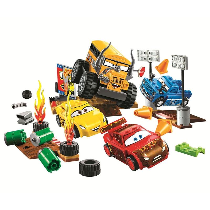 Lepin Pogo Bela 10687 Cars Moives Building Blocks Bricks Compatible Legoe Toys lepin 75821 pogo bela 10505 birds piggy cars escape models building blocks bricks compatible legoe toys