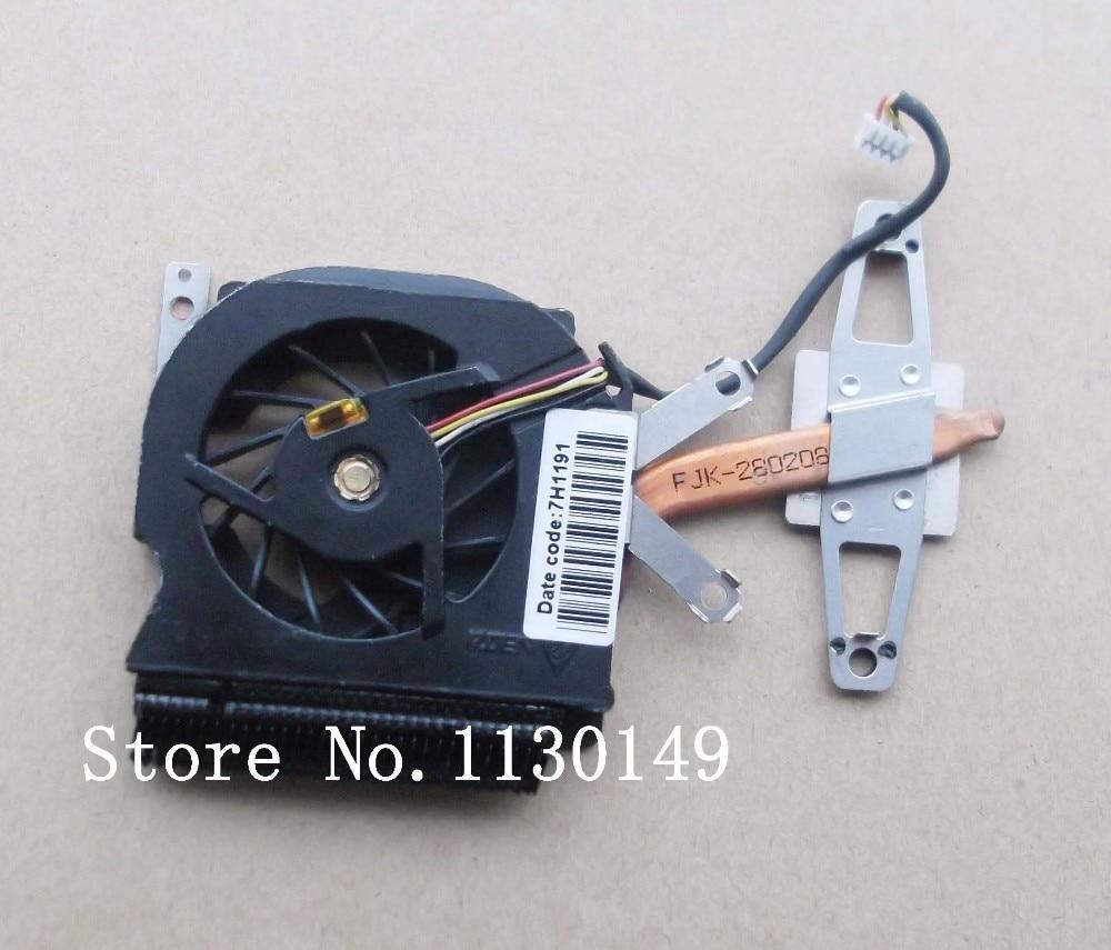Original 451731-001 cooling CPU heatsink with Fan For HP Compaq 2510p laptop cooling for asus u46e heatsink cooling fan cooler