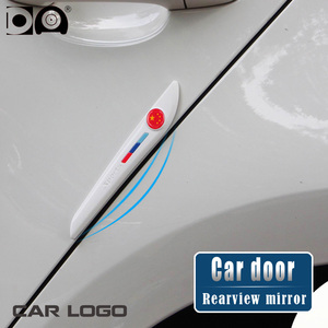 Image 2 - רכב דלת מראה אחורית נגד התנגשות רצועת עבור פולקסווגן טויוטה הונדה ניסן יונדאי Kia פורד אאודי BMW מאזדה Peugeot מרצדס סקודה