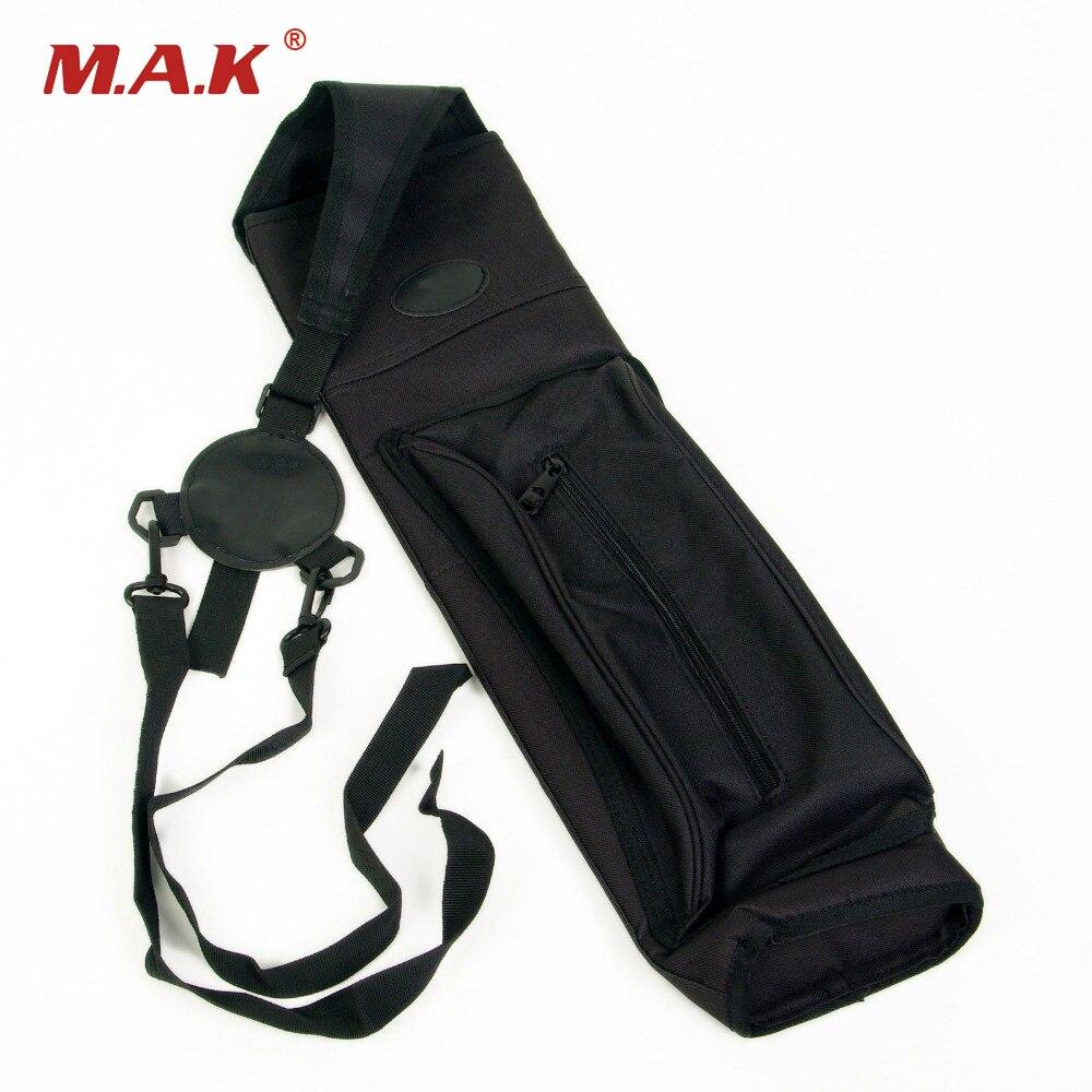 Черный колчан сумка рюкзак холст колчаны для более 30 шт. стрелки