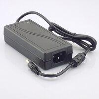 Gakaki DC 12 V 5A Schaltnetzteil Adapter Transformator 110 V-240 V für Überwachungskamera CCTV DVR LED Streifen RGB 5050