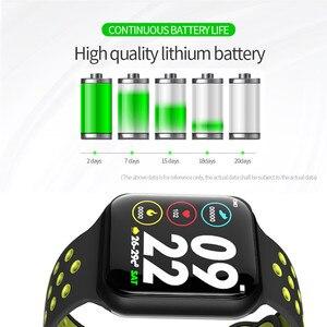 Image 2 - Wearpai F8 reloj inteligente Deporte Fitness reloj Monitor de ritmo cardiaco inteligente pulsera calorías recordatorio de llamada impermeable