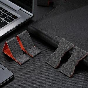 Image 2 - Support dordinateur Portable Unique support de tablette universel pour Apple/MacBook Pro 11 15 pouces pliable réglable support dordinateur Portable de bureau