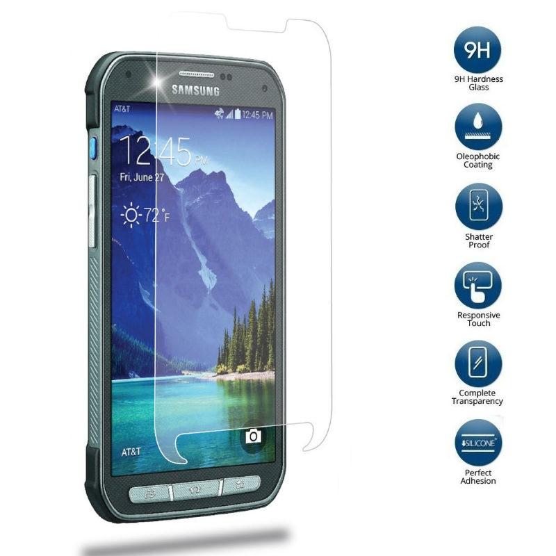 Защитная пленка из закаленного стекла 9H для Samsung Galaxy S7 Active S6 S5 Active S4 S3 Xcover 4s 4 защита стекла