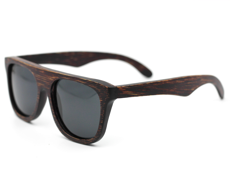 EZREAL Cool Gafas de sol de bambú de madera Hombres Gafas de sol de - Accesorios para la ropa - foto 4