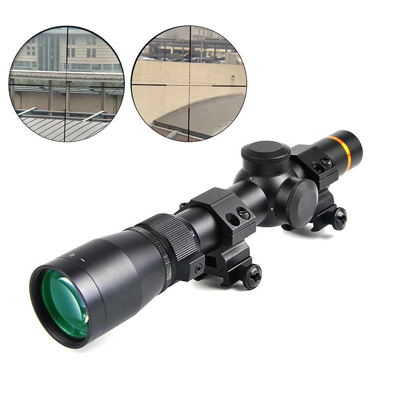 New LEUPOLD 1.5-5X20 Optics Riflescope Hunting Scopes Mil-Dot Illuminated Tactical Scopes Riflescopes For Airsoft Air Rifles hunting red dot illuminated scopes for airsoft air guns riflescopes tactical reticle optics sight hunting luneta para rifle