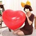 Super grandes balões de coração-em forma de mais alta qualidade do amor do casamento fotos para decorar o dos namorados 50 pçs/lote 32 polegada
