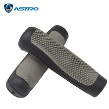 1 Pair ASTRO bicycle grips Rubber Non-slip Lock Bike Grip Dia 21mm 116mm for Mountain BMX Folding parts G61B
