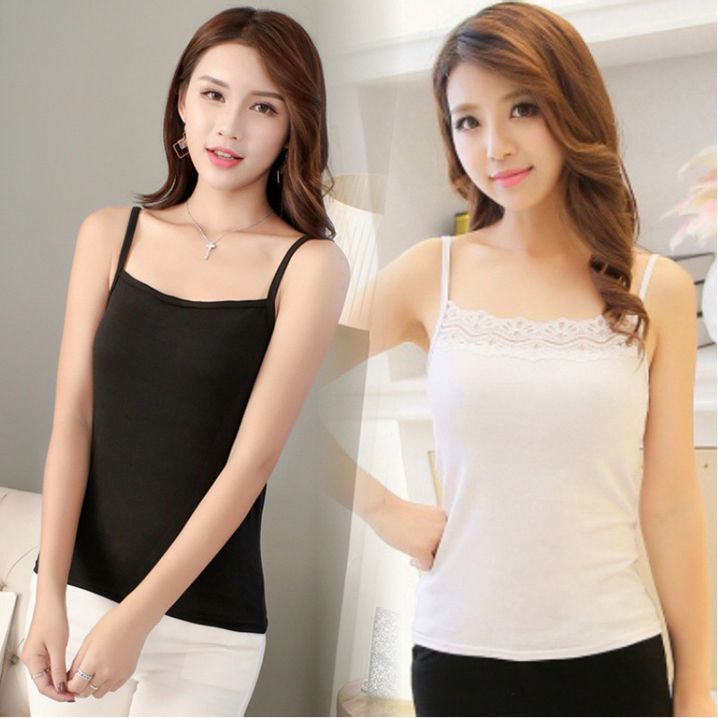 Women   Tank     Tops   Black White Women Camis Polyester And Cotton   Tops   Summer Women Blouse Clothes