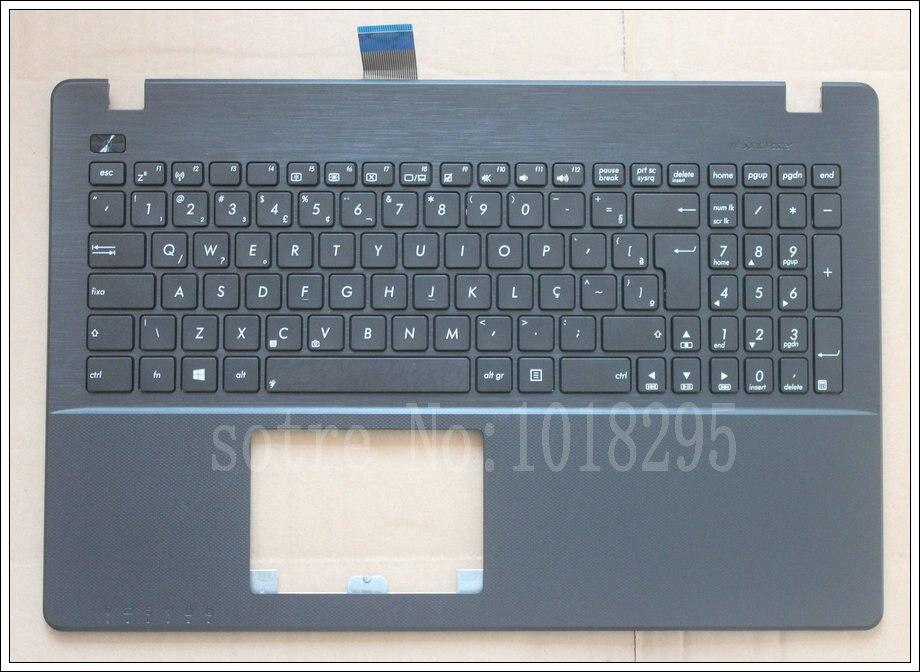 NEW BR Laptop Keyboard for ASUS X552 X552C X552MJ X552E X552EA X552EP X552L X552LA X552CL Brazil Keyboard Palmrest Cover