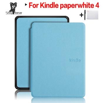 Cover Case for Amazon Kindle Paperwhite 4 2018 Case for Amazon Kindle Paperwhite 4 10th Generation e-reader e-book funda capa