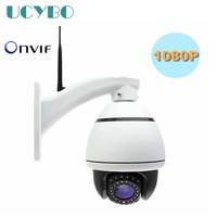 Wireless 1080P Hd Mini Speed Dome IP Camera Pan Tilt 4x Auto Zoom Wifi 2mp Ptz