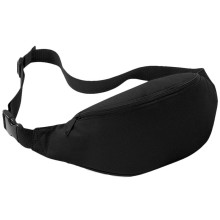 Men Women Waist Packs Black Fanny Pack Unisex Belt Bag For Celular Pouch Bag Ladies Money Belt Bag Women's Waist Bags #9874