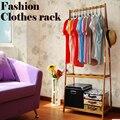 Большое пространство шкаф, одежда дисплей стойки, одежда дерево, подходит для спальни или магазин использования, деревянная мебель
