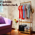 The large space wardrobe, clothing display rack, clothes tree, suitable for bedroom or shop use,wood furniture