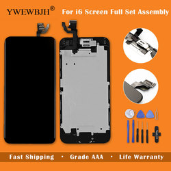 YWEWBJH Grade AAA Replacement For iPhone 6 LCD For 6S Plus LCD Display LCD Digitizer Touch Screen Completed Assembly Full Set