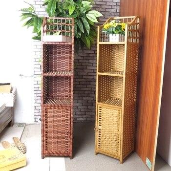 Eckschrank Lagerung | 4 Schichten Schrank Nachttisch Kleine Bücherregal Lagerung Rack Bücherregal Ecke Schrank Ecke Schrank Tel