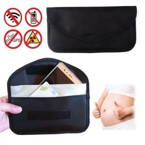 Мобильный телефон, карта автомобильного ключа, чехол-брелок, блокирующий сигнал, защита сигнала, защита от излучения, чехол-кошелек для защи...