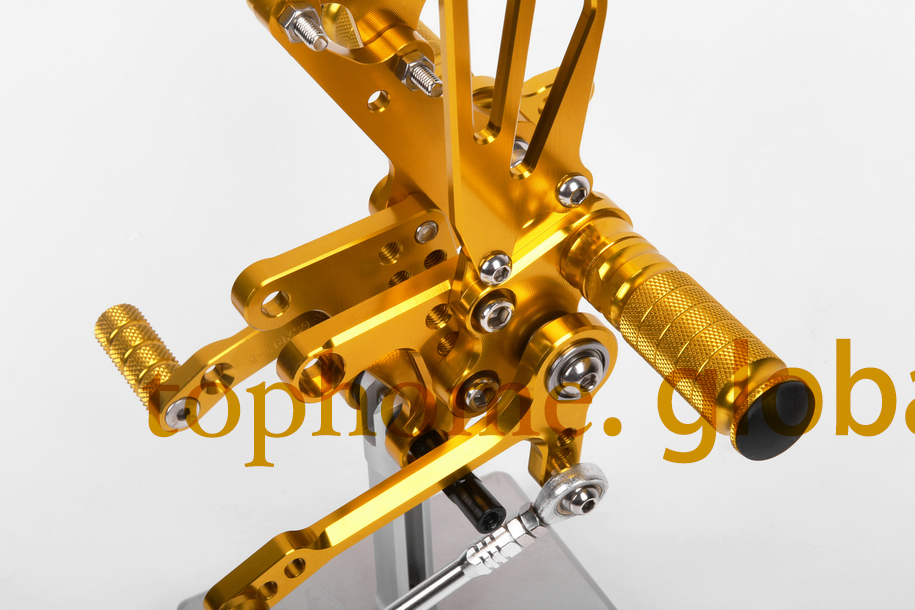 CNC Motorcycle Rearsets Foot pegs Golden Color Rear set For Suzuki SV650 SV650S