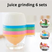 6pcs/lot Mini Juice Juicer Home Blender Orange Vegetable Mango Juicer Mini Travel Small Juice Press 2018 free shipping hot sale