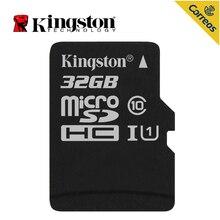 Kingston Технология холст кнопок Select и 32 Гб MicroSDHC, класс 10, UHS-I, 80 МБ/с., слот для карт памяти для смартфона, планшета,