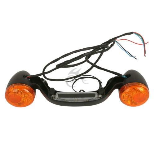 LED Rear Brake Light Turn Signal Bar For Harley FLHX Street Road Glide 10-18