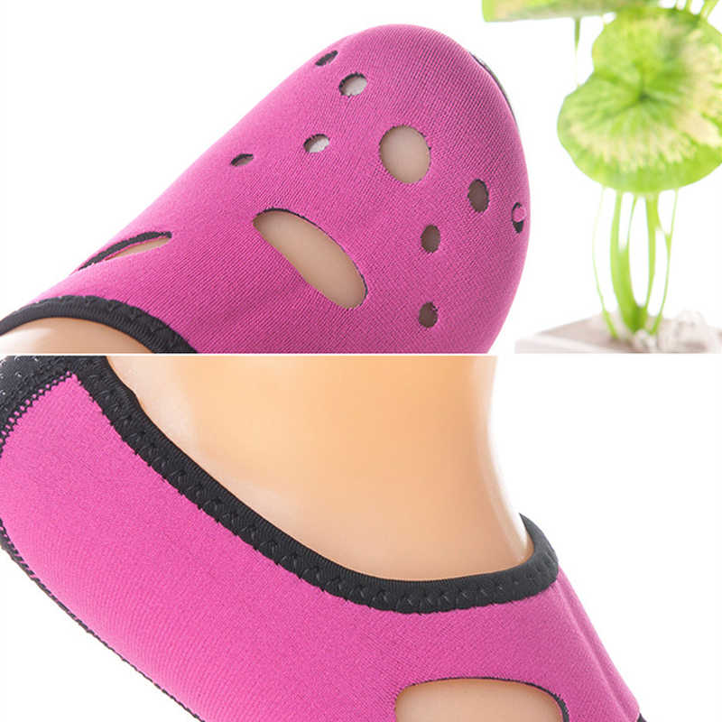 3 MM Rahat kaymaz Neopren Kısa Plaj Çorap dalış çorapları Plaj Çorap Yüzme Yüzgeçleri Flippers Wetsuit Ayakkabı