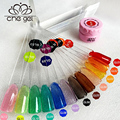 CHEGEL 12 Colors Che Translucent Glaze Gel Color Nail LED UV Builder Gel Nail Art Creative Manicure Decoration Tools