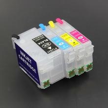 27XL T2711 refillable патрон чернил для принтера EPSON WF-3620DWF 3640DTWF 7110DTW 7610DWF 7620 wf7710 7720 WF-7210