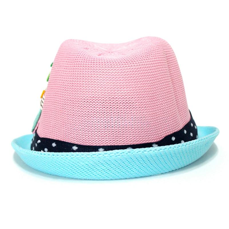 Kinder Elefanten Jazz Stroh Hut Sommer Kinder Strand Sonnencreme Hüte Mode Jungen Mädchen Im Freien Atmungsaktive Cowboys Kappe CP0181