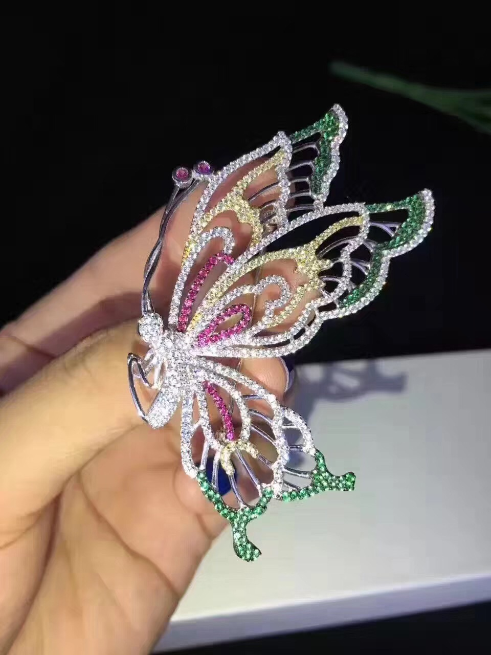 925 sterling silver butterfly brooch pins multi color fine women jewelry free shipping 925 sterling silver butterfly brooch pins multi color fine women jewelry free shipping