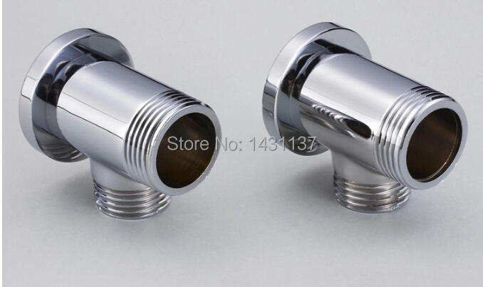 Brass material chrome plated bathtub wall supply line for - Chrome plated brass bathroom accessories ...