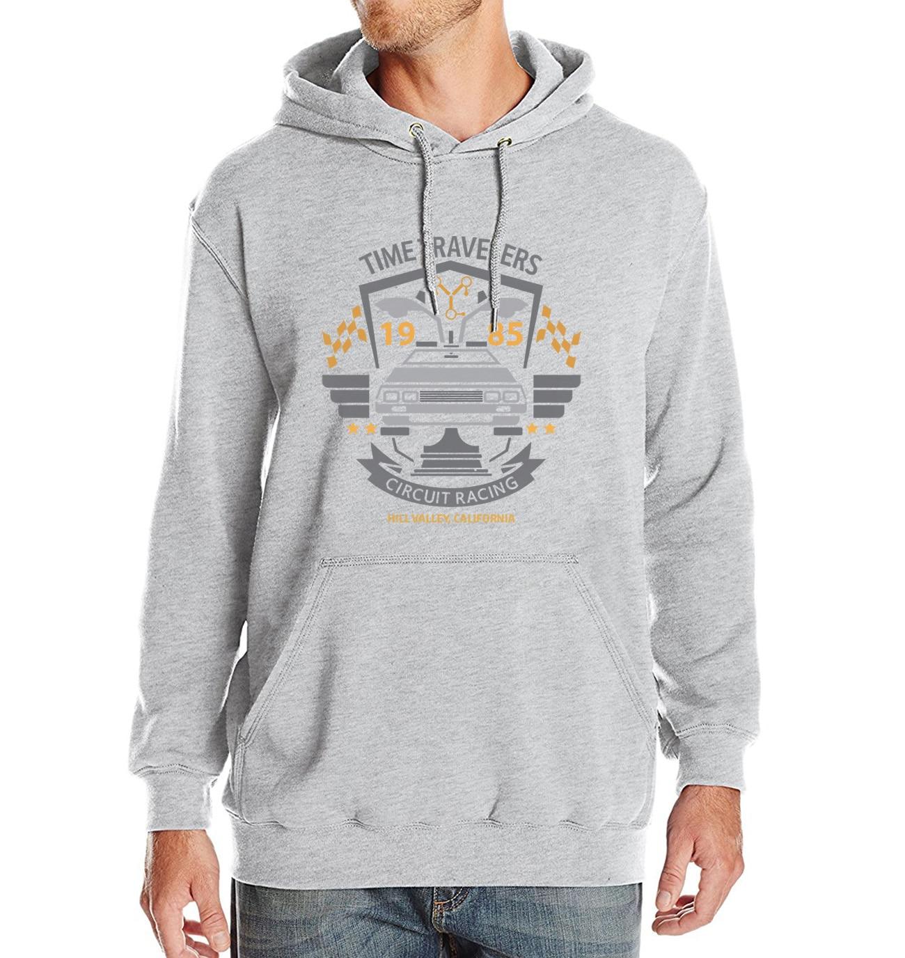 BACK TO FUTURE Sweatshirt Men 2018 Autumn Winter Fleece Men's Hoodies Fashion Streetwear Brand Clothing Hooded Hoodie Tracksuit