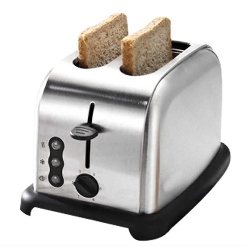 OLYAIR retro toaster Brushed 2-Slice Toaster Stainless Steel  silver/red kitchenaid kmt221 2 slice toaster 5kmt221eer тостер на 2 хлебца empire red