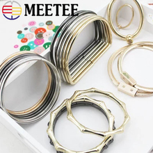 1Pair=2PCS Meetee Metal Bag Handle O Ring D Ring Metal Bag DIY Replacement Accessaries Shoulder Bags Belt ring linked belt with bag