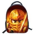 2016 Kids lego backpack bags fashion 3D printing Children lego bags book bag school for teenager mochilas school kids