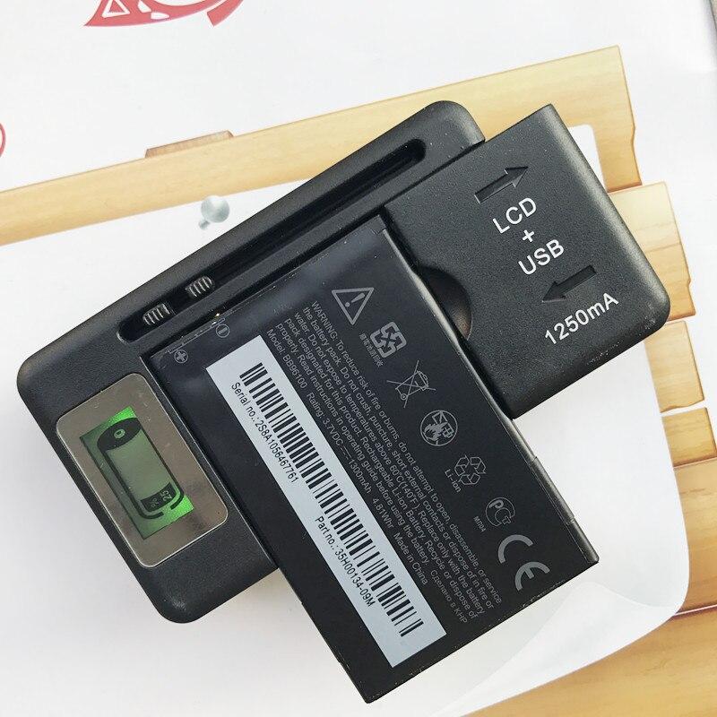 2&#215;1300 мАч <font><b>bb96100</b></font> Батарея для HTC Wildfire A3333 A3366 a3360 A3380 T-Mobile G2 G8 G6 A6363 a6390 Батарея + 1x ЖК-дисплей Зарядное устройство