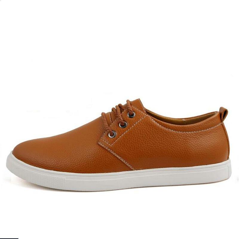 Marca de Moda de Los Hombres Zapatos Casuales Tamaño grande 38-49 de Los Hombre