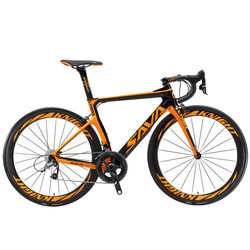 SAVA Carbon Road bike Carbon bike Road Bicycle 22 Speed Racing bicycle Full Carbon frame with SHIMANO ULTEGRA 8000 Groupsets