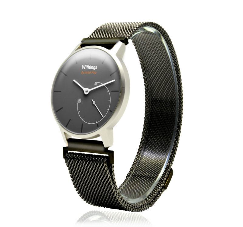 Withings HR 36mmWrist Bands Tilbehør, Milanese Loop Strap Magnetisk Rustfritt Stål Replacement Withings og LG Watch Style