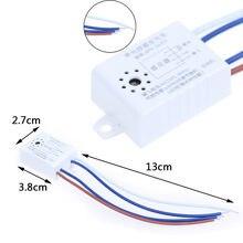 220V 50Hz LED Sound Betrieben Schalter Energie Sensor Stimme Control Lampe Akustische Sensor Schalter